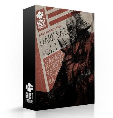 Dark Bass Vol.2, Deep Dubstep, Beats, Techno, Grime, House, Ghost Syndicate, Sample Pack, Samples, 24bit WAV