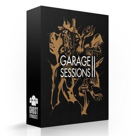 Garage Sessions Vol.2, Future Garage, Grime, Deep Dubstep, Ghost Syndicate, Sample Pack, Samples, 24bit WAV