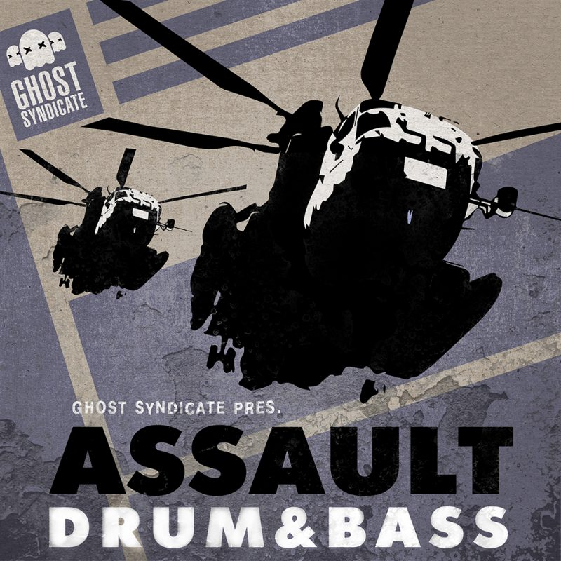Assault DNB, Drum & Bass, Ghost Syndicate, Sample Pack, Samples, 24bit WAV
