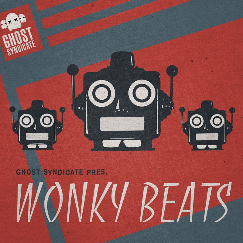 Wonky Beats, Trap, Beats, Future Beats, Ghost Syndicate, Sample Pack, Samples, 24bit WAV