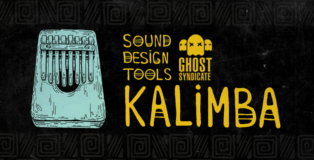 Sound Design Tools: Kalimba, Ghost Syndicate, Sample Pack, Samples, 24bit WAV