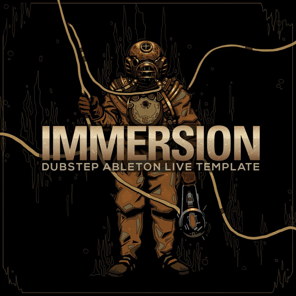 Immersion, Ableton Live Template, Deep Dubstep, Ghost Syndicate, Sample Pack, Samples, 24bit WAV