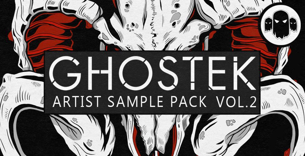 Ghostek Artist Sample Pack Vol.2, Ghost Syndicate, 24 bit WAV Loops & One Shots