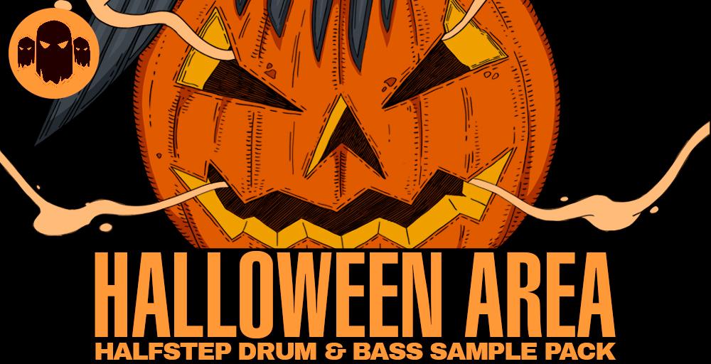 Halloween Area - Halfstep Drum & Bass Sample Pack