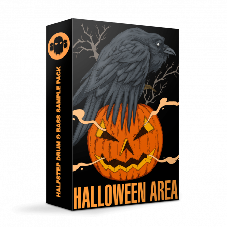 Halloween Area - Halfstep Drum and Bass Sample Pack