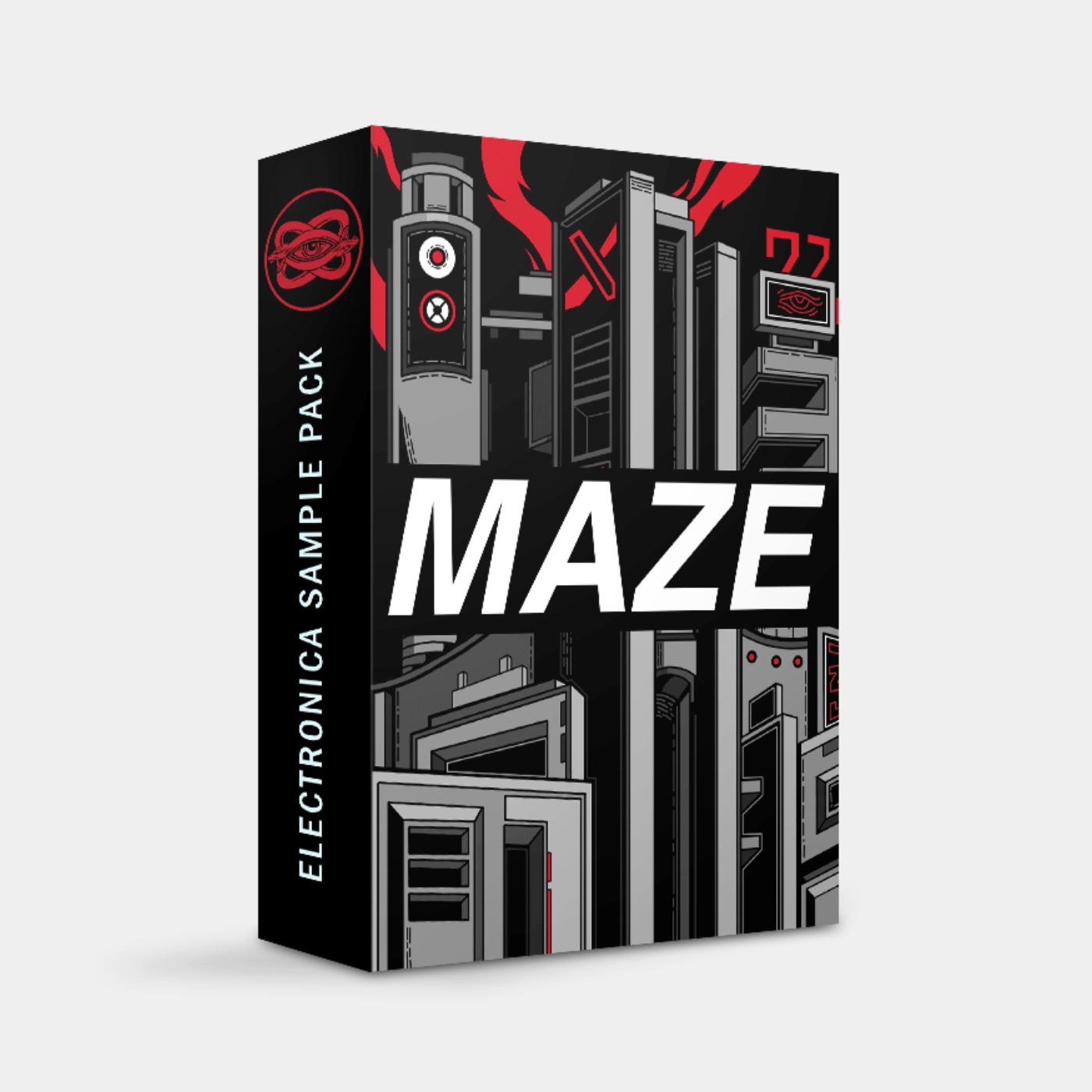 Maze Retrowave Sample Pack