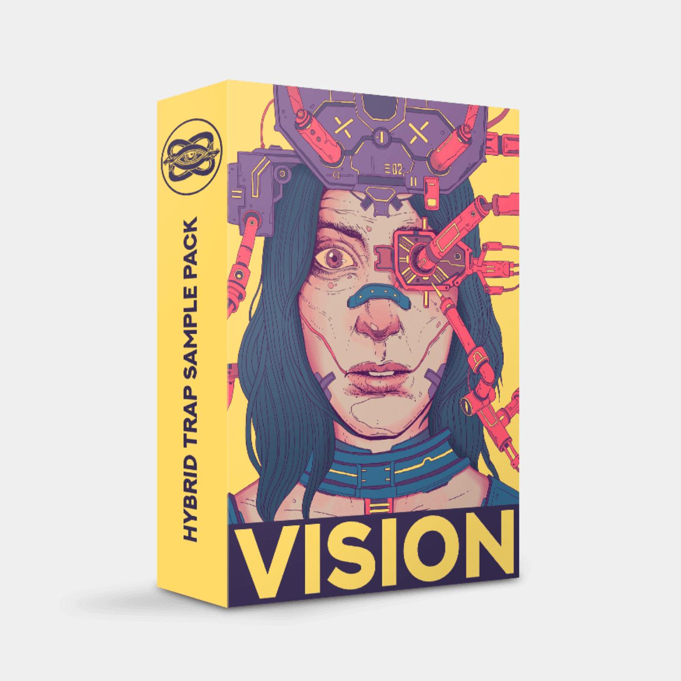 Vision Hybrid Trap Sample Pack