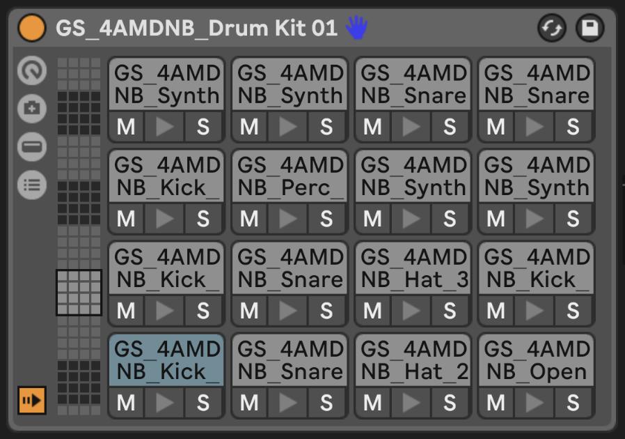 4AM Drum & Bass Drum Kits