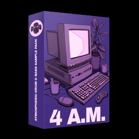 4AM Drum & Bass - Atmospheric DNB Sample Pack
